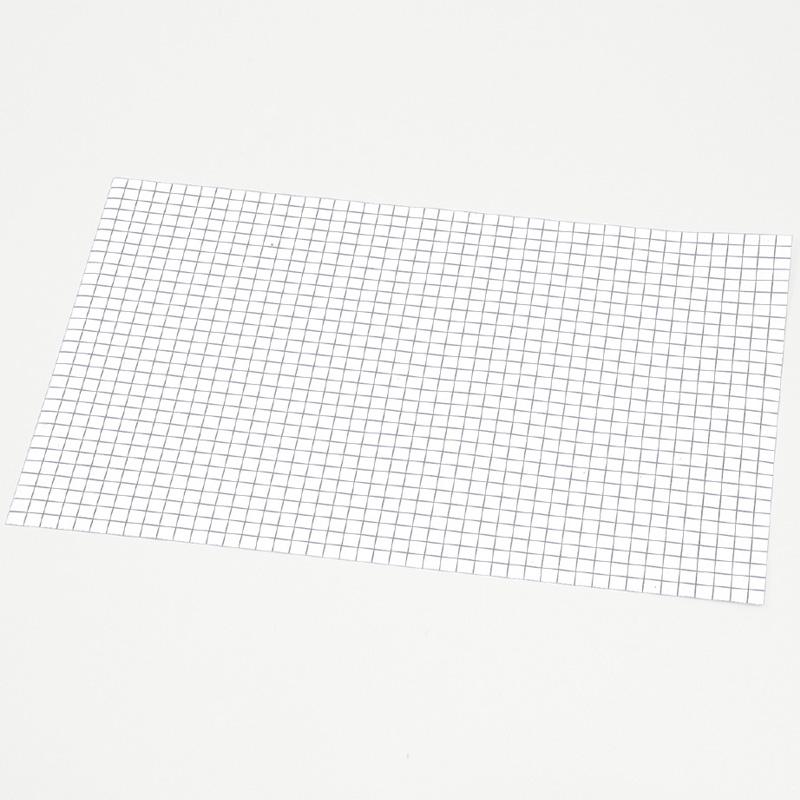 方眼入 トレーシングペーパー300x450 白板 図工 工作 美術 画材 学校 教材 小学生 クラフト ホビー