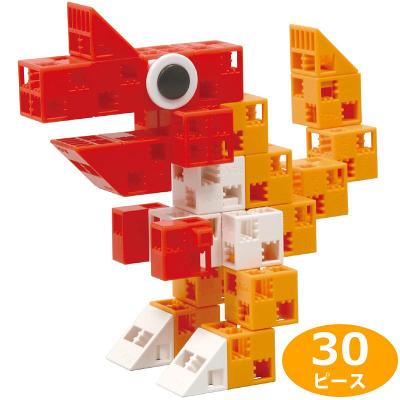 Artec ブロック きょうりゅう 30PP袋入 知育玩具 キッズ 幼児 パズル 工作 おもちゃ