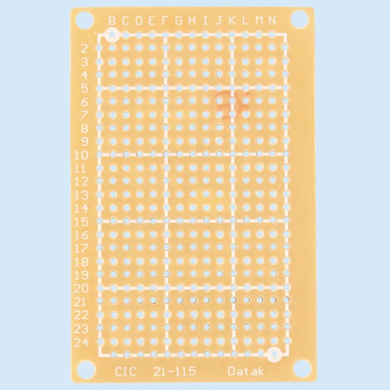 ユニバーサル基盤[片面] 理科 技術 工作 実験 電子回路 学校 教材