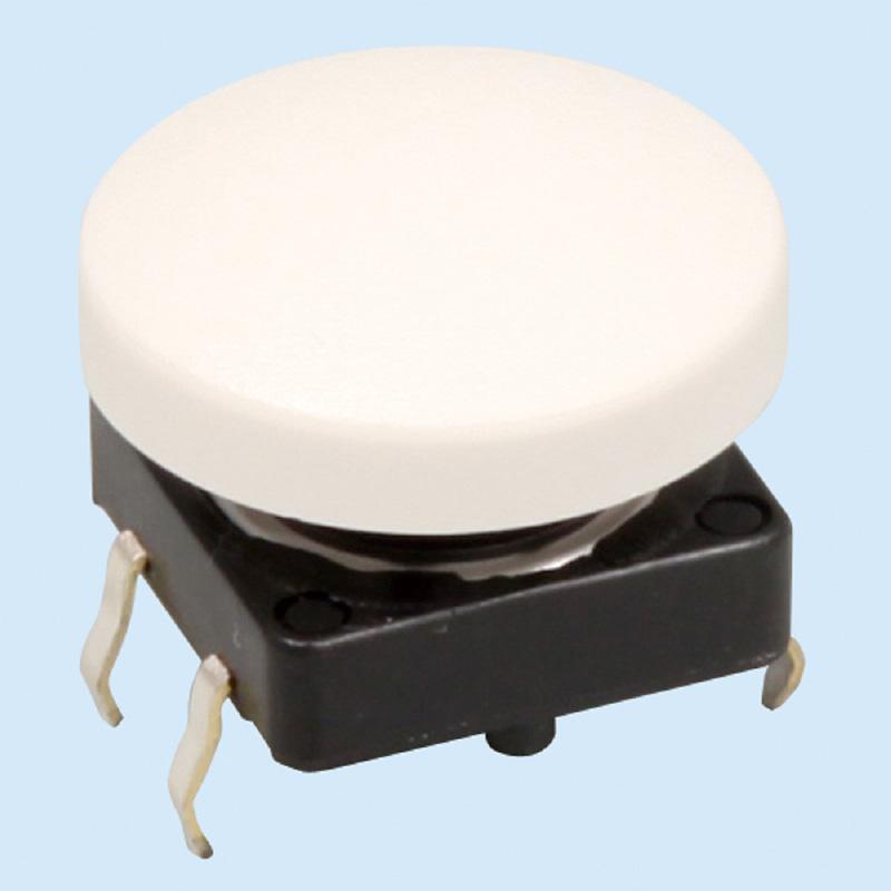 丸型タクト スイッチ白 工作 パーツ 材料 図工 技術 理科 実験 教材 ロボット 自由研究 夏休み 宿題