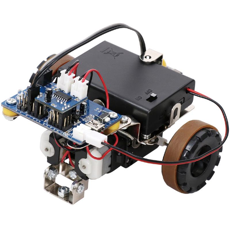 プログラム ロボットカー 車体セット 理科 実験 工作 技術 学校 教材 実験 小学生 自由研究