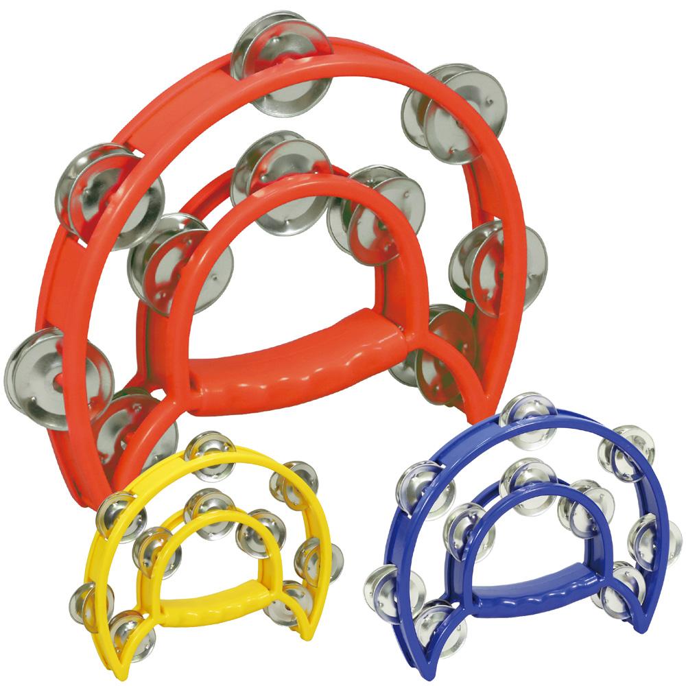 ダンス タンバリン 赤 おもちゃ 楽器 知育玩具 キッズ 子供用 幼児