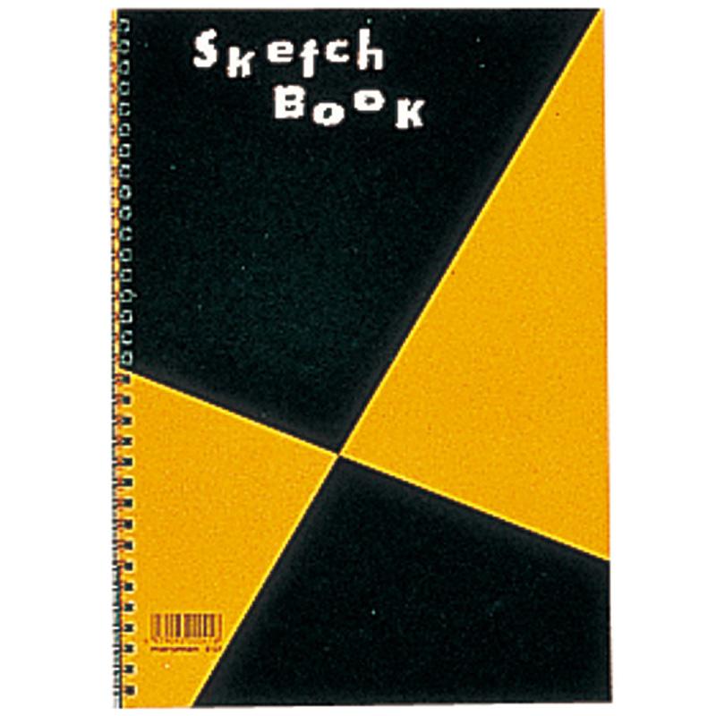 M 図案 スケッチブック A4 S131 a4 画用紙 画材 美術 図工 こども 絵 スケッチ