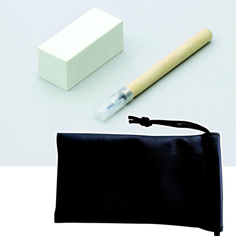 消しゴム印 レザー製小袋付 消しゴム はんこ キット 材料 セット 図工 美術 画材 工作キット 自由研究 小学生 こども