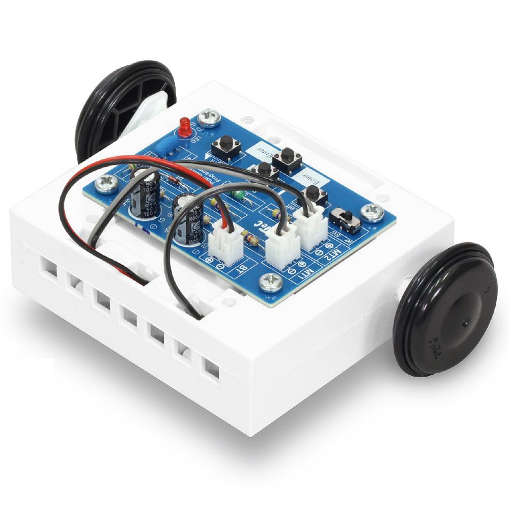 簡単ボタン 制御ロボ 基板未組立 技術 工作 ロボ パーツ 自由研究 中学生
