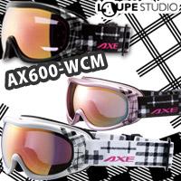 ゴーグル 眼鏡対応 スキー スノーボード AX600-WCM [16-17カタログモデル] スノーゴーグル 曇り止め機能付き メガネ対応 メンズ レディース?AXE アックス