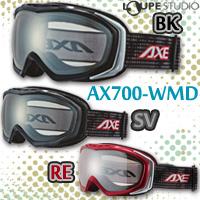 ゴーグル ダブルレンズ [16-17カタログモデル] AXE [アックス] スキー スノーボード ゴーグル AX700-WMD 曇り止め機能付き 眼鏡対応[メガネ] スノーゴーグル メガネ対応