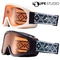 スキー ゴーグル ジュニア 眼鏡対応 曇り止め機能 スノーボード AX220-D [16-17カタログモデル] スノーゴーグル メガネ対応 子供用 キッズ AXE [アックス]