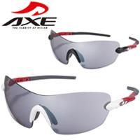 AXE ACTIVE STYLE スポーツサングラス SG-420PC UVカットUV400 AXE 紫外線対策 グッズ スポーツ ゴルフ 紫外線カット99.9%