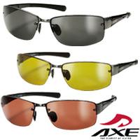 偏光サングラス UVカット ASP-399 フィッシング UV400 AXE アックス 紫外線対策 グッズ スポーツ 偏光グラス ゴルフ 紫外線カット99.9%