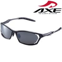 偏光サングラス ASP-390 GM UV400カット マットガンメタル AXE(アックス) UVカット 紫外線対策 スポーツ 偏光グラス 偏光サングラス 釣り フィッシング ドライブ