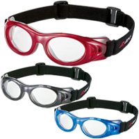ゴーグル メガネ 子供用 AXE [アックス] スポーツ アイプロテクター 保護 メガネ [めがね] AEP-02