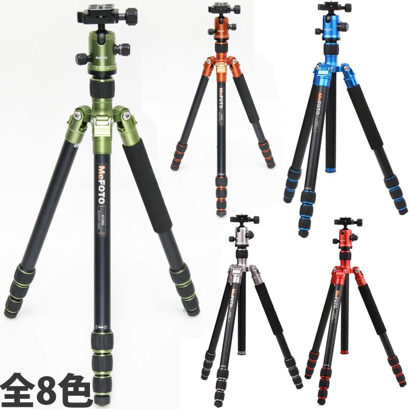 カメラ用三脚 MeFOTO A1340Q1 三脚 アルカスイス互換 コンパクト 雲台 一眼レフ 軽量 デジカメ