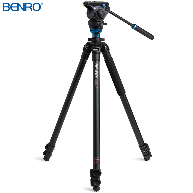 A2573FS4 アルミプロレバーロック ビデオ三脚キット VTR用三脚 BENRO[ベンロ] 三脚 カメラアクセサリー ビデオ 撮影 運動会 イベント
