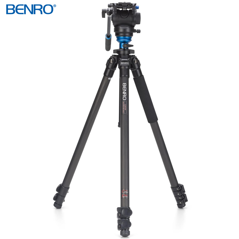 C2573FS4 カーボンプロレバーロック ビデオ三脚キット VTR用三脚 BENRO[ベンロ] 三脚 カメラアクセサリー ビデオ 撮影 運動会 イベント