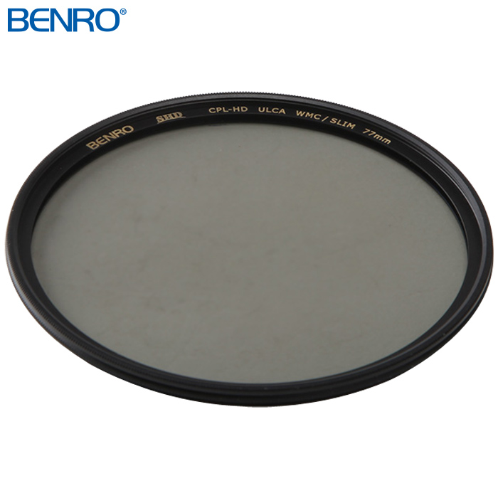 円偏光フィルター SHD CPL-HD ULCA WMC/SLIM 77mm CPLフィルター フイルター77mm BENRO[ベンロ] カメラアクセサリー レンズ フィルター 偏光 撮影
