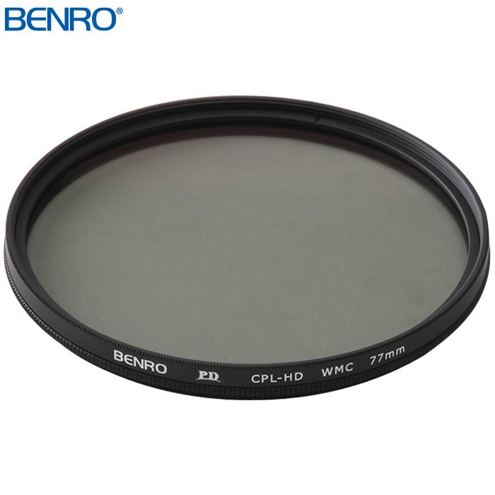 円偏光フィルター PD CPL-HD WMC 77mm CPLフィルター フイルター77mm BENRO[ベンロ] カメラアクセサリー レンズ フィルター 偏光 撮影
