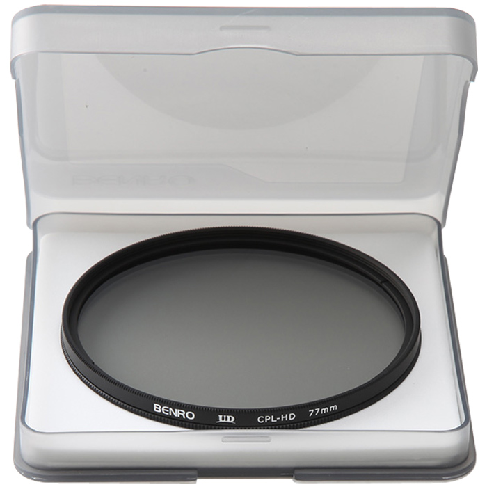 円偏光フィルター UD CPL-HD 77mm CPLフィルター フイルター77mm BENRO[ベンロ] カメラアクセサリー レンズ フィルター 偏光 撮影