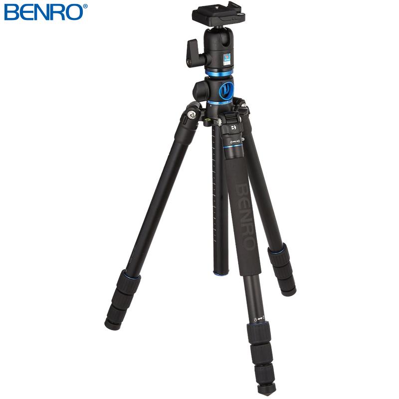 GA168TBH1 アルミGo Travel 三脚雲台セット BENRO[ベンロ] 三脚 カメラアクセサリー ビデオ 撮影 運動会 イベント