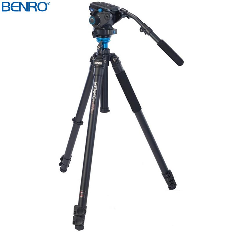 A3573FS6 アルミプロレバーロック ビデオ三脚キット VTR用三脚 BENRO[ベンロ] 三脚 カメラアクセサリー ビデオ 撮影 運動会 イベント