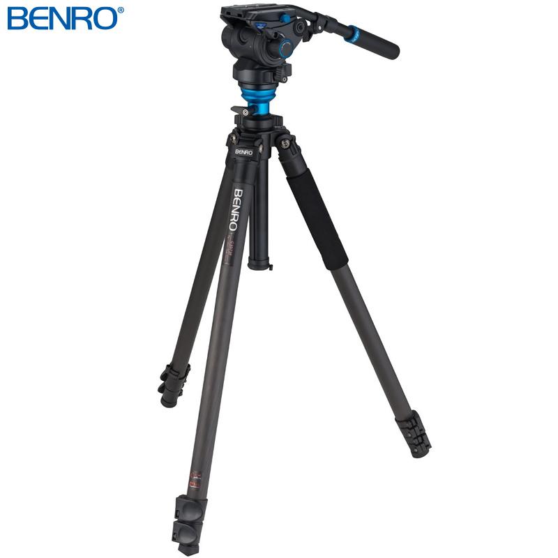 C3573FS6 カーボンプロレバーロック ビデオ三脚キット VTR用三脚 BENRO[ベンロ] 三脚 カメラアクセサリー ビデオ 撮影 運動会 イベント