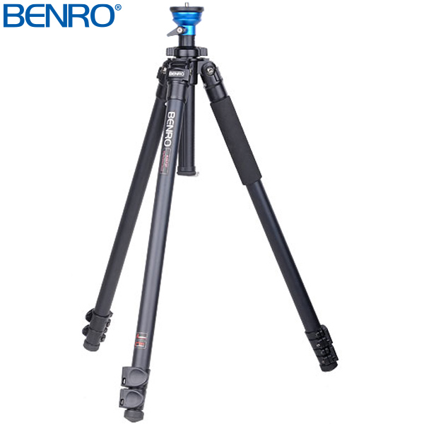 A1573F レベリングセンターポール式アルミビデオ三脚 VTR用三脚 BENRO[ベンロ] 三脚 カメラアクセサリー ビデオ 撮影 運動会 イベント