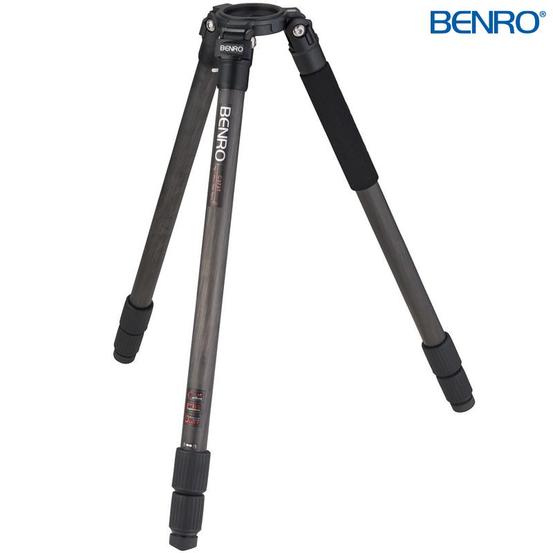 C373T シングルチューブ型プロ用カーボンビデオ三脚 VTR用三脚 BENRO[ベンロ] 三脚 カメラアクセサリー ビデオ 撮影 運動会 イベント