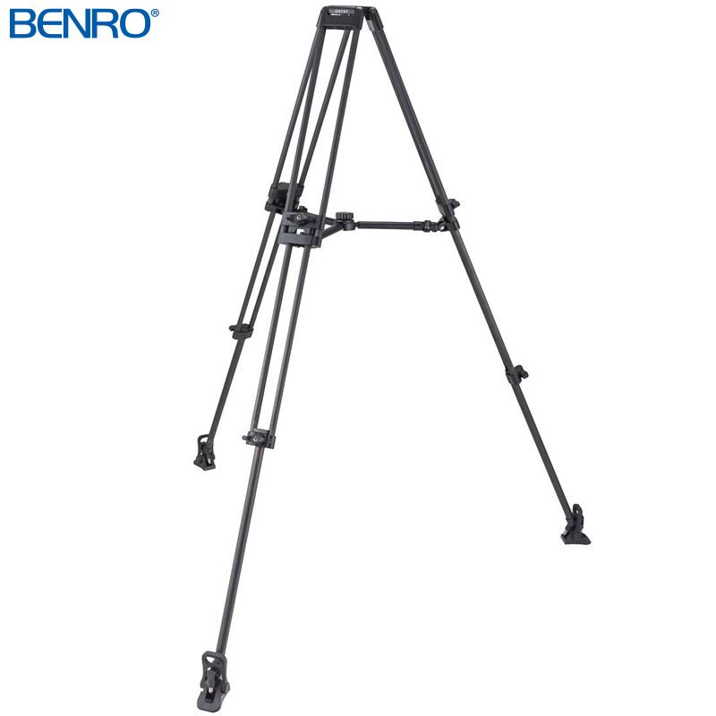 C673TM ダブルチューブ型プロ用ビデオ三脚 VTR用三脚 BENRO[ベンロ] 三脚 カメラアクセサリー ビデオ 撮影 運動会 イベント