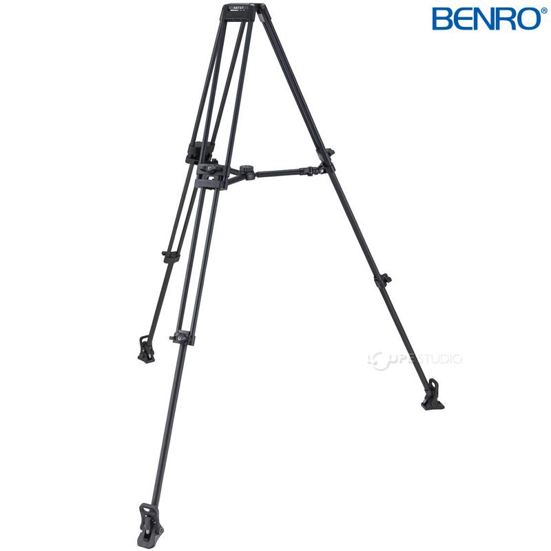 A673TM ダブルチューブ型プロ用ビデオ三脚 VTR用三脚 BENRO[ベンロ] 三脚 カメラアクセサリー ビデオ 撮影 運動会 イベント