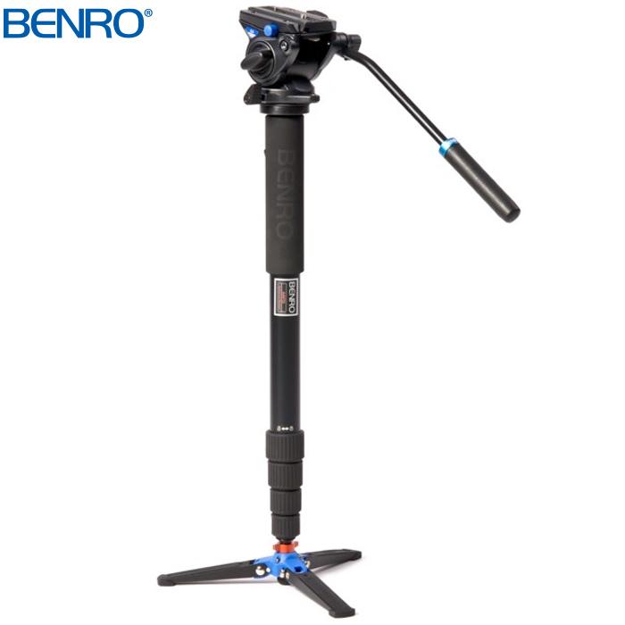 A49TDS4 自立補助型 ビデオ一脚 BENRO[ベンロ] 一脚 撮影 カメラアクセサリー カメラ ビデオ用品
