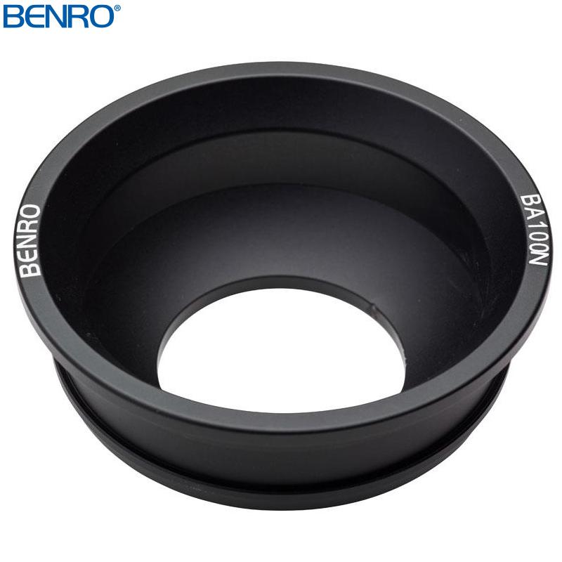 BA100N ボールアダプター BENRO[ベンロ] 三脚用 ボール アダプター カメラアクセサリー 撮影