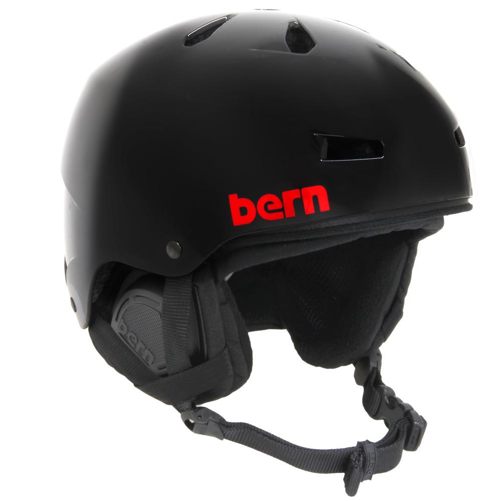 ヘルメット MACON Gloss Black Henrik Harlaut BE-SM22H17GBH[M] bern 国内正規販売店 スキー スノーボード スノボ BMX 自転車 バイク おしゃれ かっこいい 登山 2017-18モデル