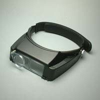 ヘッドルーペ BM-120CE 2.7倍 補助レンズ付き CE 双眼ルーペ ヘッドバンド式 池田レンズ