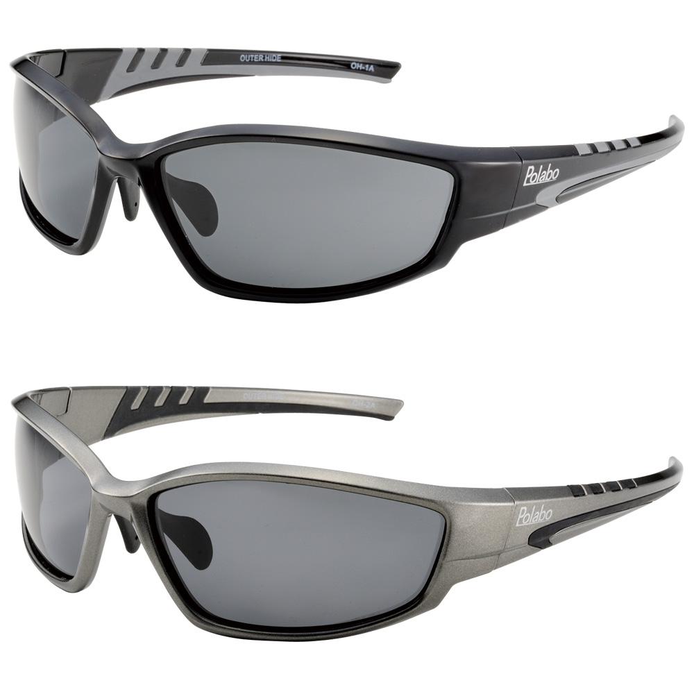 サングラス 偏光サングラス アウターハイド 冒険王 ドライブ ゴルフ 釣り UV カット ブルー光線