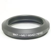 天体望遠鏡 アダプター M47→M57/60AD 7910 BORG 用途が広がります