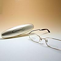 [シニアグラス] カンダオプティカル スライト2 ゴールド/ブラウンマット 老眼鏡 強度 男性 おしゃれ