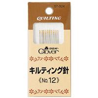 キルティング針No.12 57324 クロバー 縫い針 ぬい針 手芸 裁縫 ソーイング用品 洋裁 ハンドクラフト