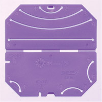 つまみ細工プレート[剣つまみL] 57454 クロバー 手芸 裁縫 ソーイング用品 洋裁 ハンドクラフト