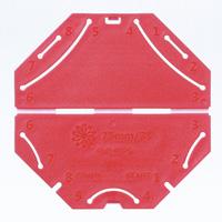 つまみ細工プレート[剣ひだつまみL] 57465 クロバー 手芸 裁縫 ソーイング用品 洋裁 ハンドクラフト