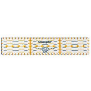オムニグリッド定規3×15cm クロバー 裁縫道具 ルーラー ソーイング用品 手芸 手作り ハンドメイド