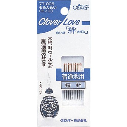 CL-もめんぬい[三ノ二] クロバー 手芸 裁縫 ソーイング用品 洋裁 ハンドクラフト