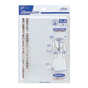 CL-接着芯・ソフト白 クロバー 手芸 裁縫 ソーイング用品 洋裁 ハンドクラフト