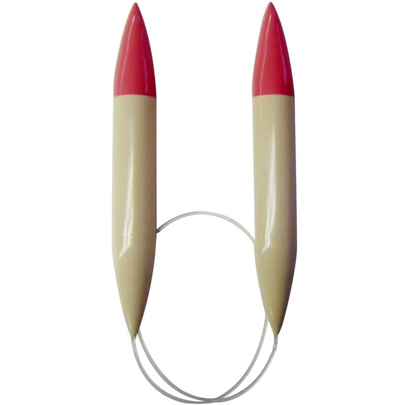 輪針 長80cmジャンボ 25mm 51815 Clover 編み物 手芸 輪針 輪編み 手あみ 手編み 手作り 趣味 クロバー クローバー