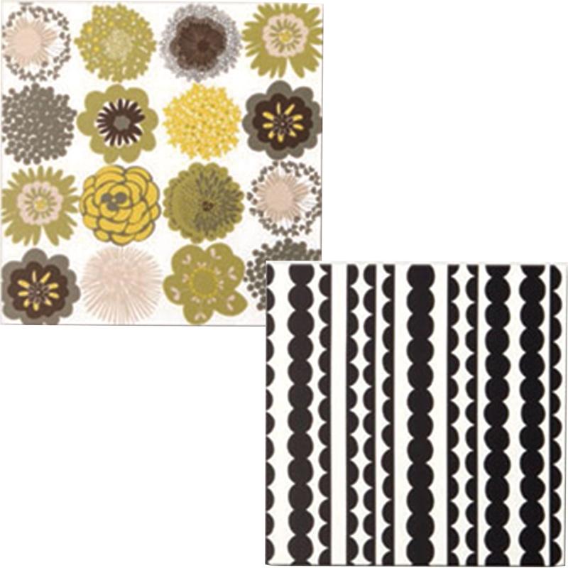 組み立て式ファブリックパネル 布パネフレームセット 布付き 30×30cm 71109 71110 クロバー 布つき フレームキット アートフレーム 手芸 クラフト 生地 裁縫