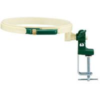 ターンフープ 18cm 57493 クロバー 手芸用品 ししゅう 枠 刺しゅう 裁縫 ステッチ クローバー 趣味 ホビー 手作り