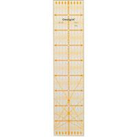 オムニグリッド定規 10×45cm 57625 クロバー 手芸用品 裁縫 定規 キルト用 さし クローバー 趣味 ホビー 手作り