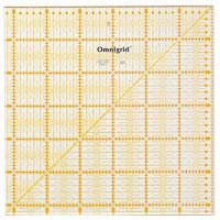 オムニグリッド定規 31.5×31.5cm 57626 クロバー 手芸用品 裁縫 定規 キルト用 さし クローバー 趣味 ホビー 手作り