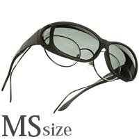 偏光 オーバーグラス ポラライズド C412G COCOONS [コクーンズ] オーバーサングラス ミニースリムライン[MS] 紫外線カット メンズ レディース
