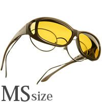 偏光 オーバーグラス ポラライズド C415Y COCOONS [コクーンズ] ミニースリムライン[MS] 紫外線カット メンズ
