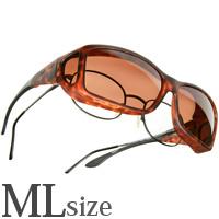 偏光 オーバーグラス ポラライズド C427C COCOONS [コクーンズ] オーバーサングラス?ワイドライン[ML] メガネの上からサングラス
